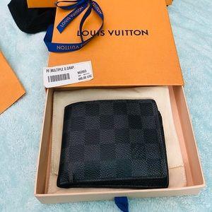 Louis Vuitton Men's Damier Graphite Canvas